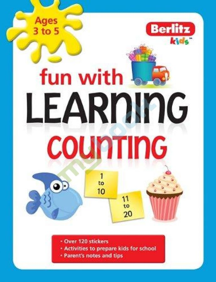 придбати книгу Berlitz Language: Fun with Learning: Counting (3-5 years)