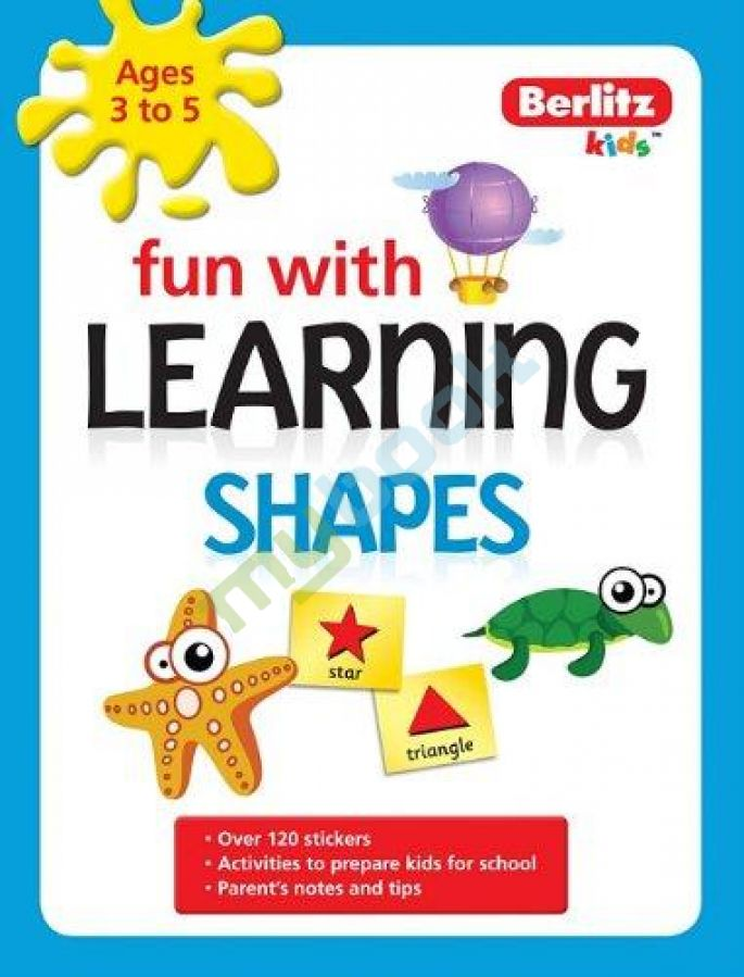 придбати книгу Berlitz Language: Fun with Learning: Shapes (3-5 years)