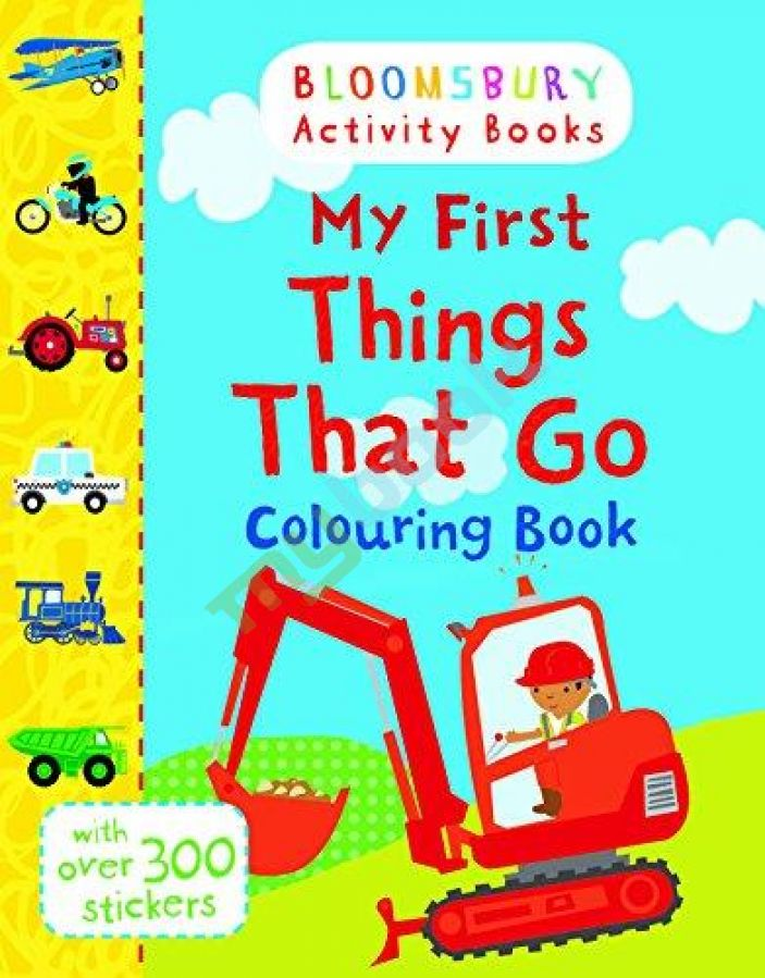 придбати книгу Bloomsbury Activity: My First Things That Go Colouring Book
