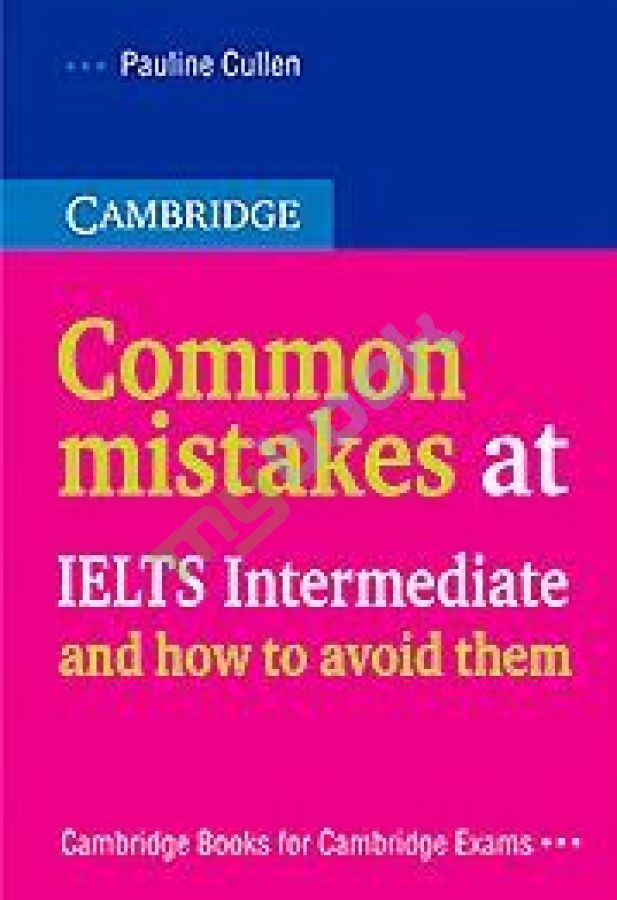 придбати книгу Common mistakes at IELTS Intermediate... and How to Avoid Them