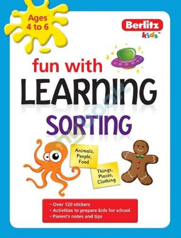придбати книгу Berlitz Language: Fun with Learning: Sorting (4-6 years)