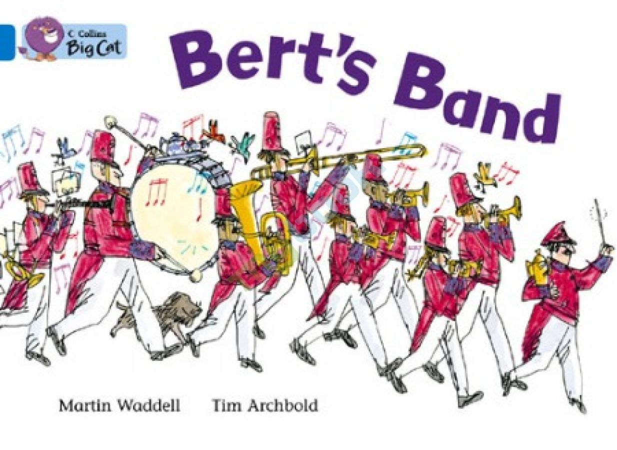 придбати книгу Big Cat 4 Bert's Band. Workbook.