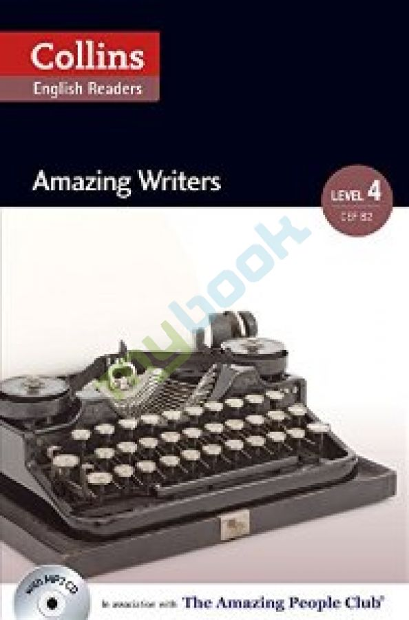 придбати книгу Amazing People Club Amazing Writers with Mp3 CD Level 4
