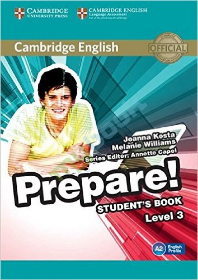 придбати книгу Cambridge English Prepare! Level 3 Student's Book