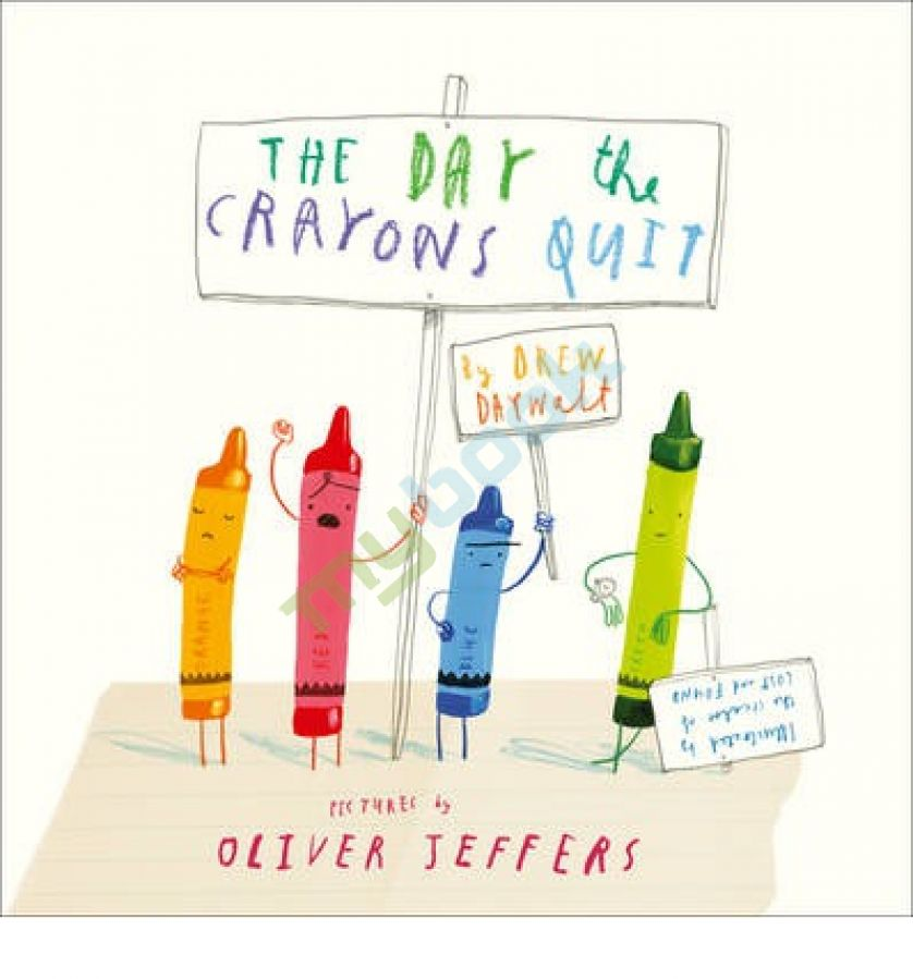 придбати книгу The Day the Crayons Quit
