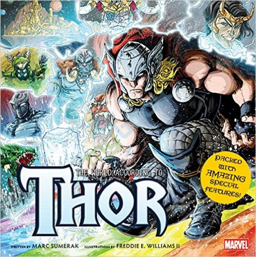 придбати книгу The World According to Thor (Insight Legends) (Hardcover)