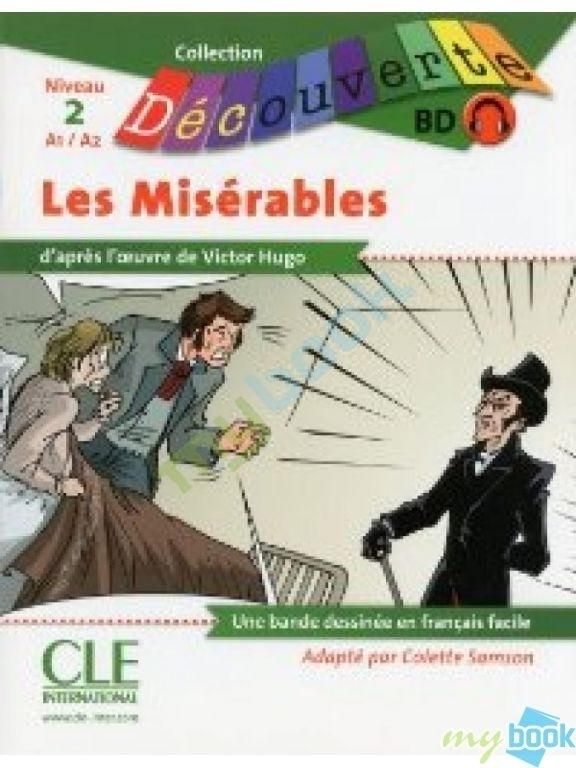 CD2 Les Miserables Livre + CD audio